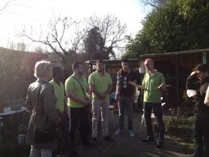 Bezoek van de Utrechtse wethouder Mirjam de Rijk aan het project waterzijdig inregelen.